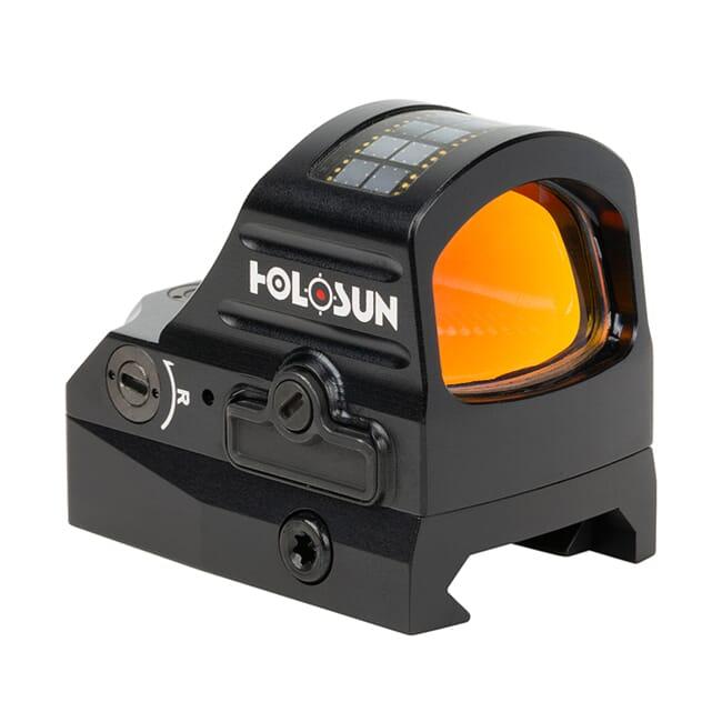 Holosun HS507C-V2 Multi-Reticle Circle Dot Open Reflex Sight w/ Solar Failsafe and Shake Awake - HS507C-V2
