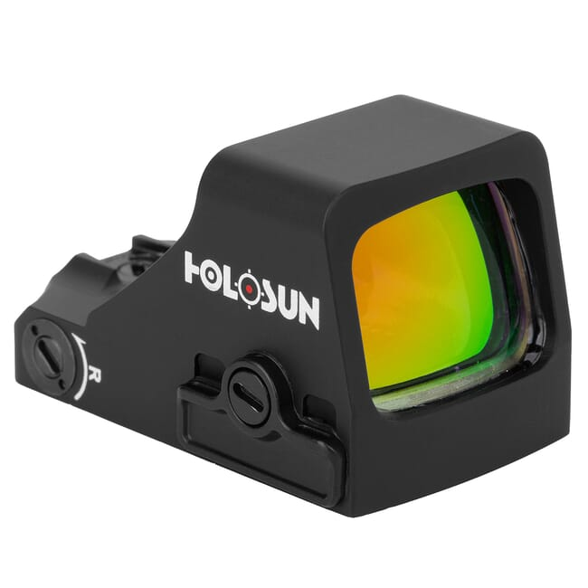 Holosun HS507K-X2 Compact Multi-Reticle Circle Dot Open Red Dot Sight w/ Shake Awake - HS507K-X2