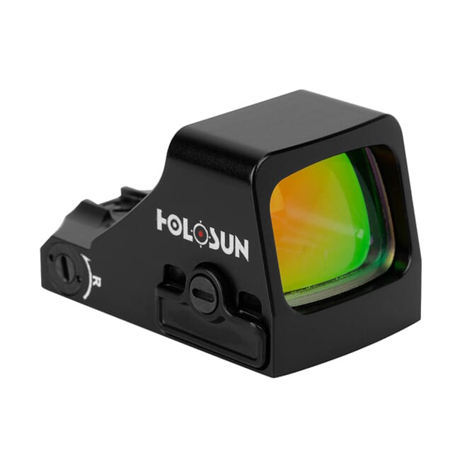 Holosun HS507K Compact Multi-Reticle Circle Dot Open Red Dot Sight w/ Shake Awake - HS507K