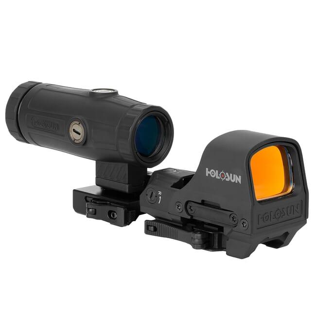 Holosun HS510C+HM3X Combo Multi-Reticle Circle Dot Open Reflex Sight w/ 3x Flip-to-Side Magnifier - HS510C-HM3X-Combo