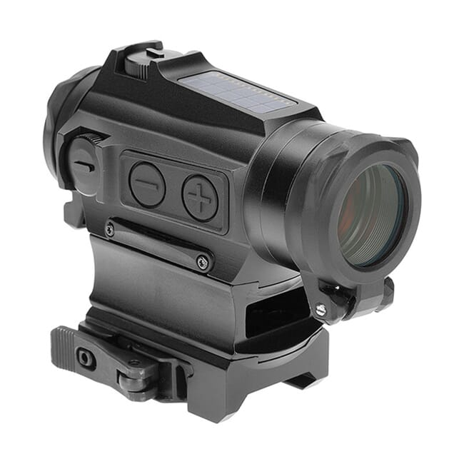 Holosun HS515CM Multi-Reticle Circle Dot 20mm Micro Reflex Sight w/ Solar Failsafe, Shake Awake, and QD Mount - HS515CM