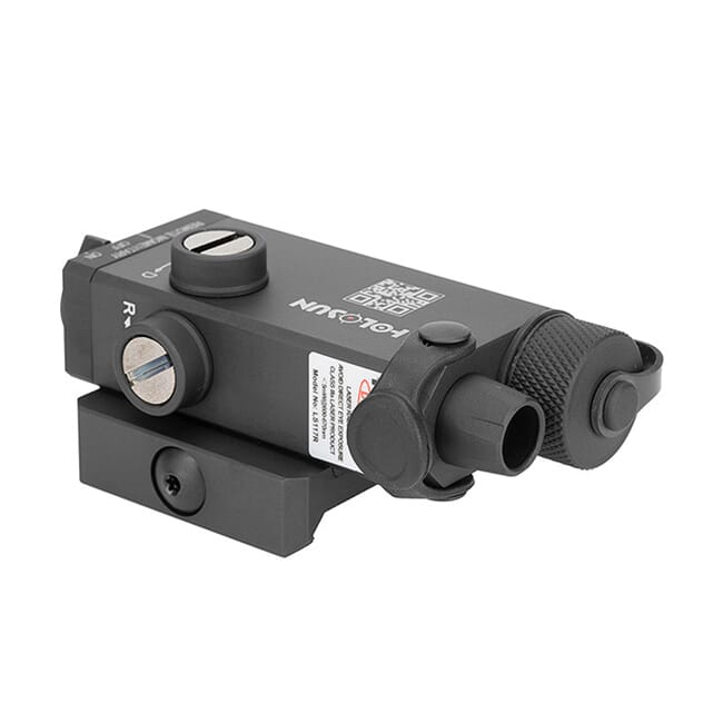 Holosun LS117G Green Collimated Laser Sight w/ QD Picatinny Rail Mount - LS117G