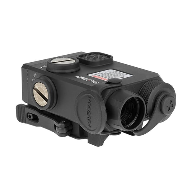 Holosun LS221G&IR Co-axial Green and IR Laser Sight w/ QD Picatinny Rail Mount - LS221G-IR