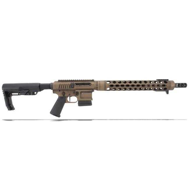 """JP Enterprises SCR11 .223 Rem 16"""" Bbl Burnt Bronze Cerakote Rifle Order #20-1524"""