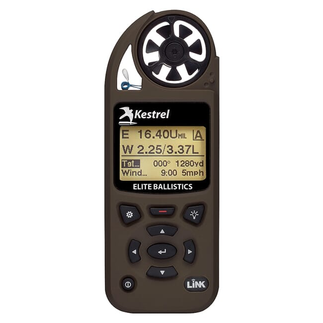 Kestrel 5700 Elite Weather Meter with Applied Ballistics with LiNK - Berry Compliant - Flat Dark Earth 0857ALFDEM