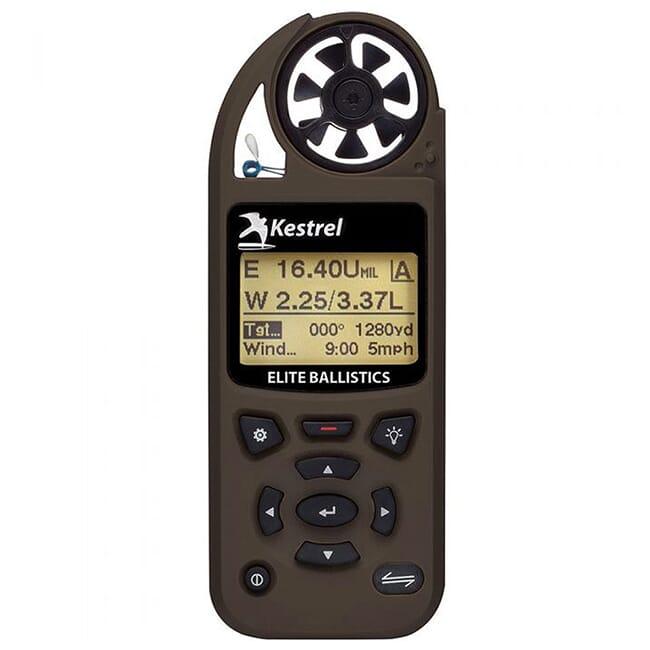 Kestrel Elite Weather Meter with Applied Ballistics with LiNK Flat Dark  Earth 0857ALFDE
