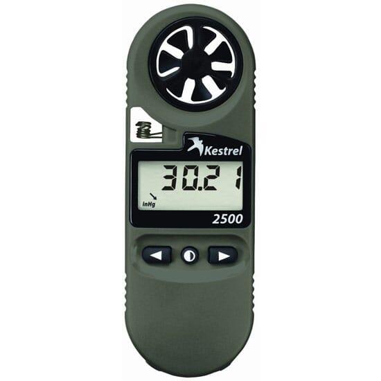Kestrel 2500NV Weather Meter Digital Altimeter NV Backlight 0825NV