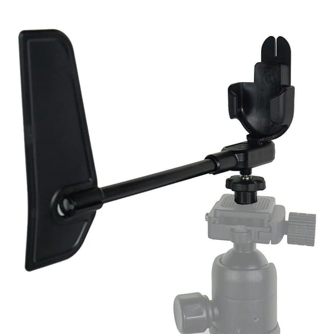 Rotating Vane Mount & Carry Case for Kestrel 1,2,3 Series Black 0781
