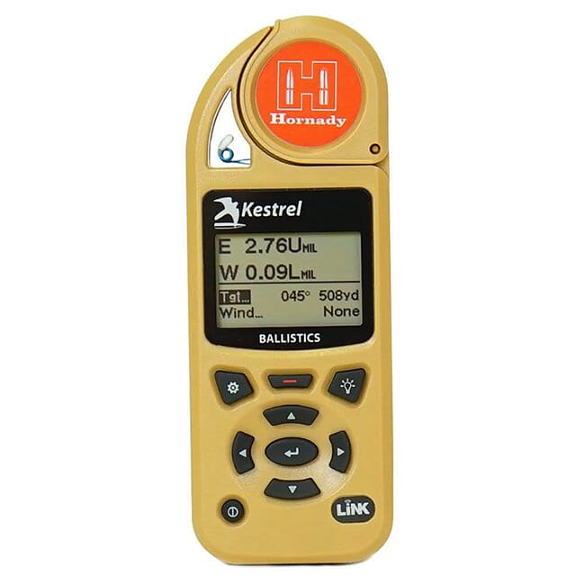 Kestrel 5700 Ballistics Weather Meter with Hornady 4DOF 0857HLSND