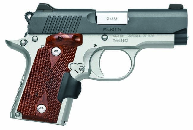 Kimber 1911 Micro 9 Crimson Carry 9mm 3300101|3300101