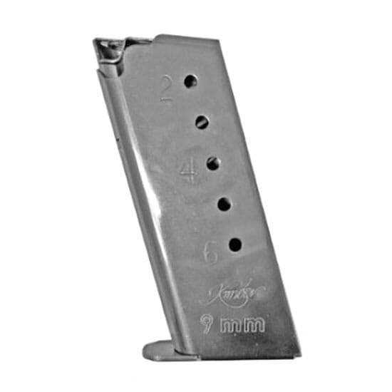 Kimber Solo 9mm 6rd Stainless Magazine 1200037A