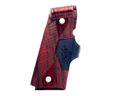 Kimber Crimson Trace Lasergrips Rosewood green-laser Compact 4700045