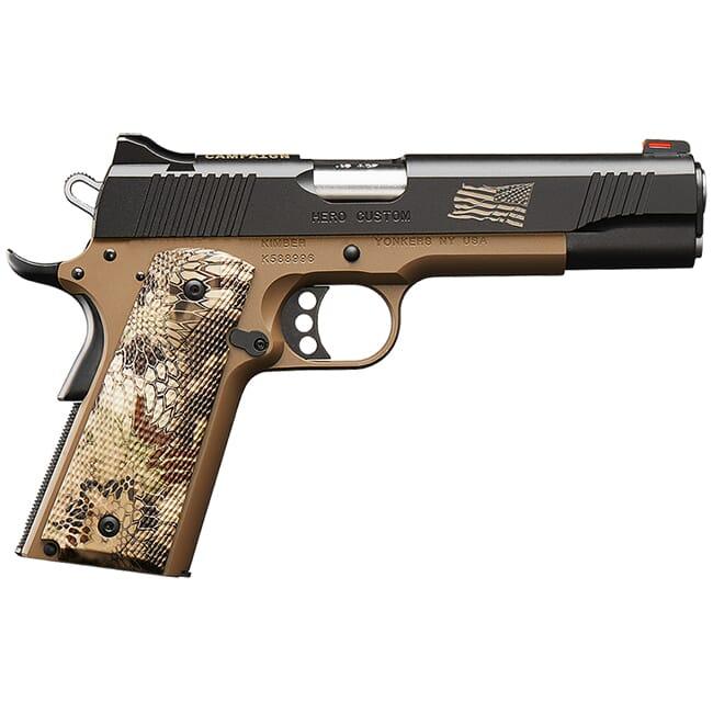Kimber Hero Custom Boot Campaign .45 ACP Pistol 7 Round Magazine 3200383