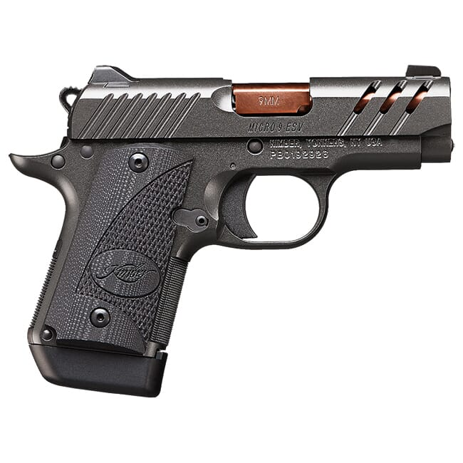 Kimber Micro 9 ESV (Gray) (TiCN Rose Copper Barrel) 9mm Pistol 3300204