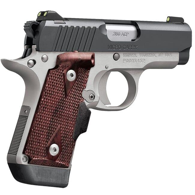 Kimber 1911 Micro Pistols: Kimber Micro Crimson Carry (NS) .380 ACP Pistol 3300211