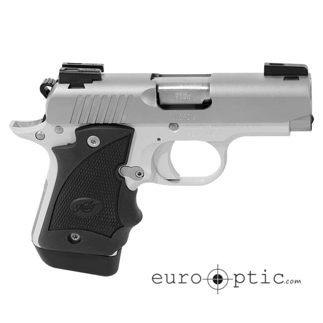 Micro 9 Stainless (DN) /TFX Pro Sight & Hogue grips