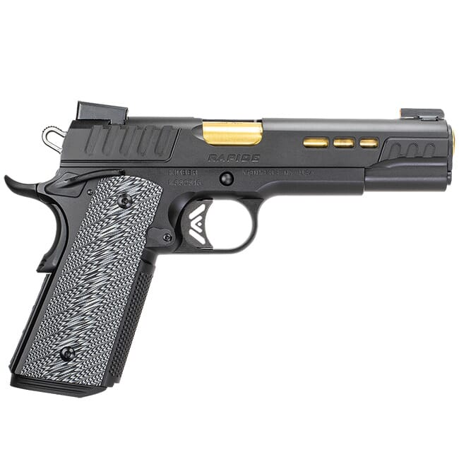 Kimber Rapide .45ACP Black TiN Bbl G10 Grips Night Sights 3000383