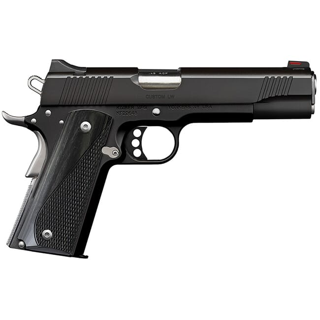 Kimber Custom LW (Nightstar) .45 ACP 8rd Black Pistol 3700595