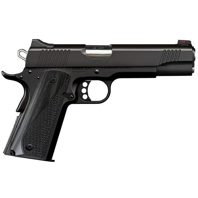 Kimber Custom LW .45 ACP 8rd Black Pistol 3700597