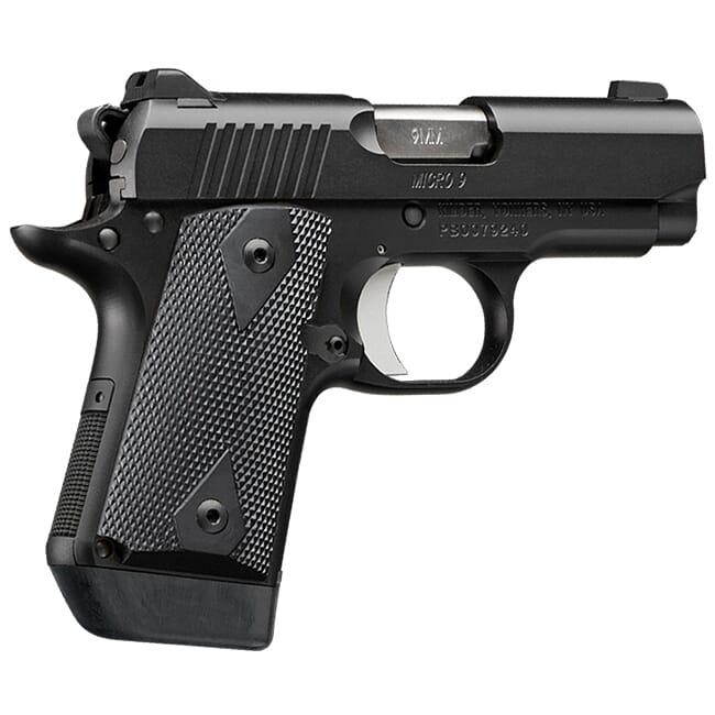 Kimber Micro 9mm 7rd Black Pistol 3700635