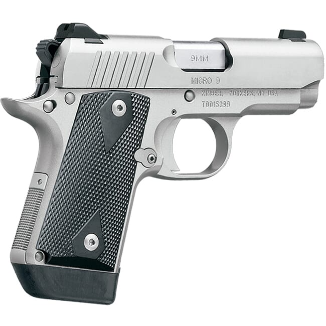 Kimber Micro 9mm 7rd Stainless Pistol 3700636 For Sale