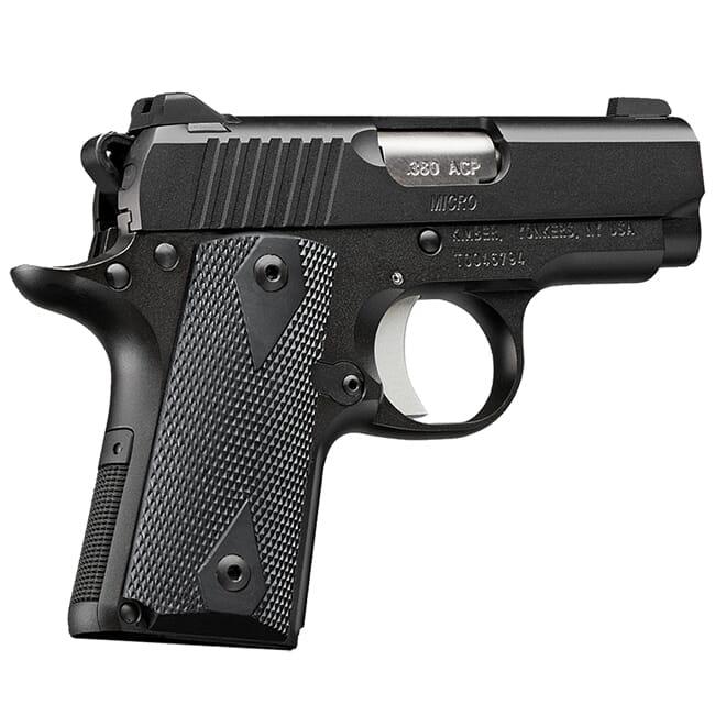 Kimber Micro .380 ACP 6rd Black Pistol 3700601