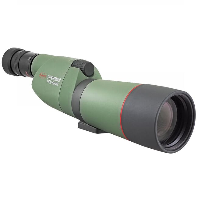 Kowa 66mm Spotting Scope Body with Prominar XD lens - Straight Green TSN-664M