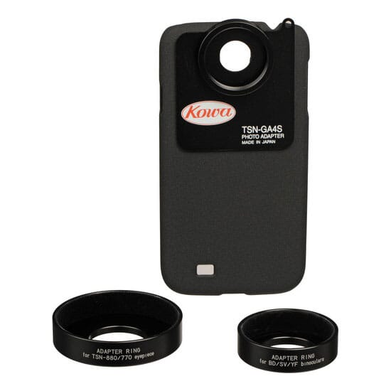 Kowa Photo Adapter for Galaxy S4 Standard Set (includes adapter rings for BD42-XD/32, SV series, YF  TSN-GA4S