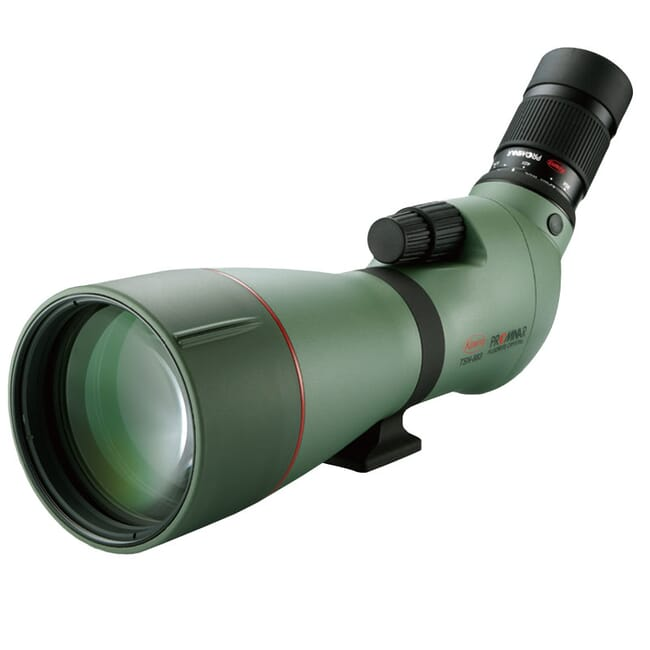 Kowa TSN-883 88mm Prominar Angled Spotting Scope Body with Kowa TE-11WZ 25-60x Wide Angle Zoom Eyepiece TSN-883-TE-11WZ-Kit-Kowa