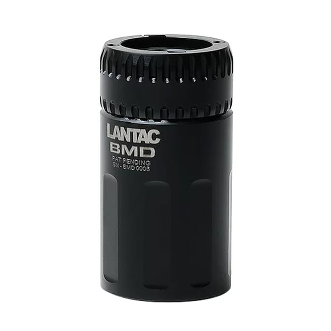 Lantac Complete Gen2 Blast Mitigation Device with A2 Adapter Collar for Dragon Muzzle Brakes 01-MD-A2-BMD-COMP