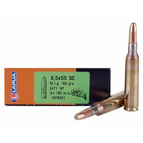 Lapua 155gr SP MEGA Rifle Ammunition LU4316021