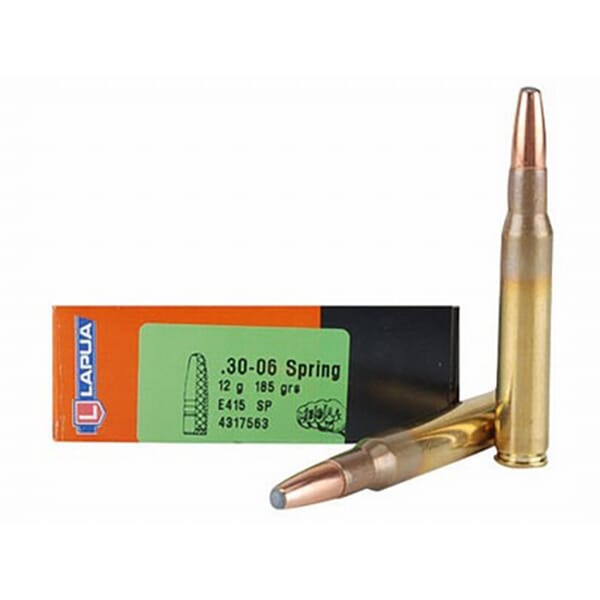 Lapua 185gr SP Mega Rifle Ammunition LU4317563