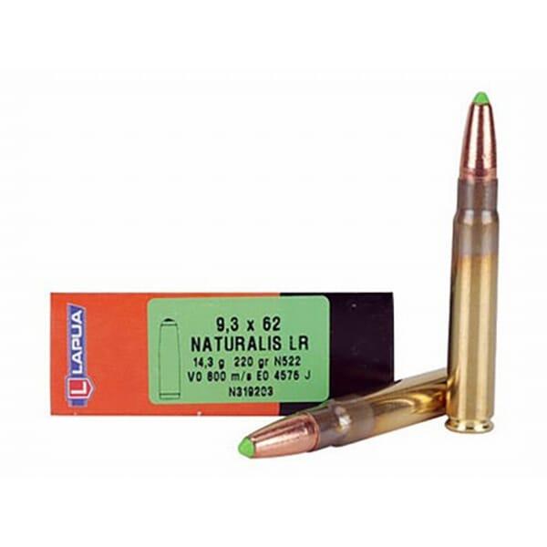 Lapua 220gr Naturalis-Solid LR Rifle Ammunition LUN319203