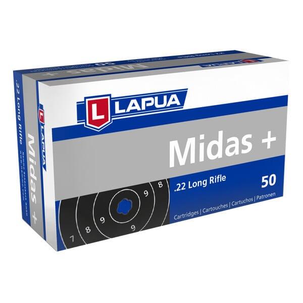 Lapua .22 LR Midas - Case 5,000 Rds 420162