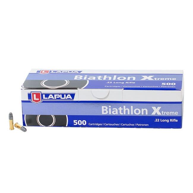 Lapua .22 LR Biathlon Xtreme  - Brick 500 Rds 520170