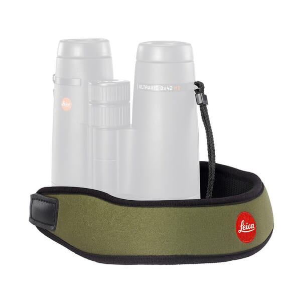 Leica Neoprene Bino Neck Strap - Olive Green 42055 42055