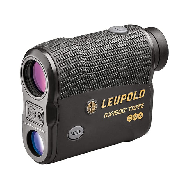 Leupold RX-1600i TBR with DNA Laser Rangefinder Black/Gray OLED Selectable 173805
