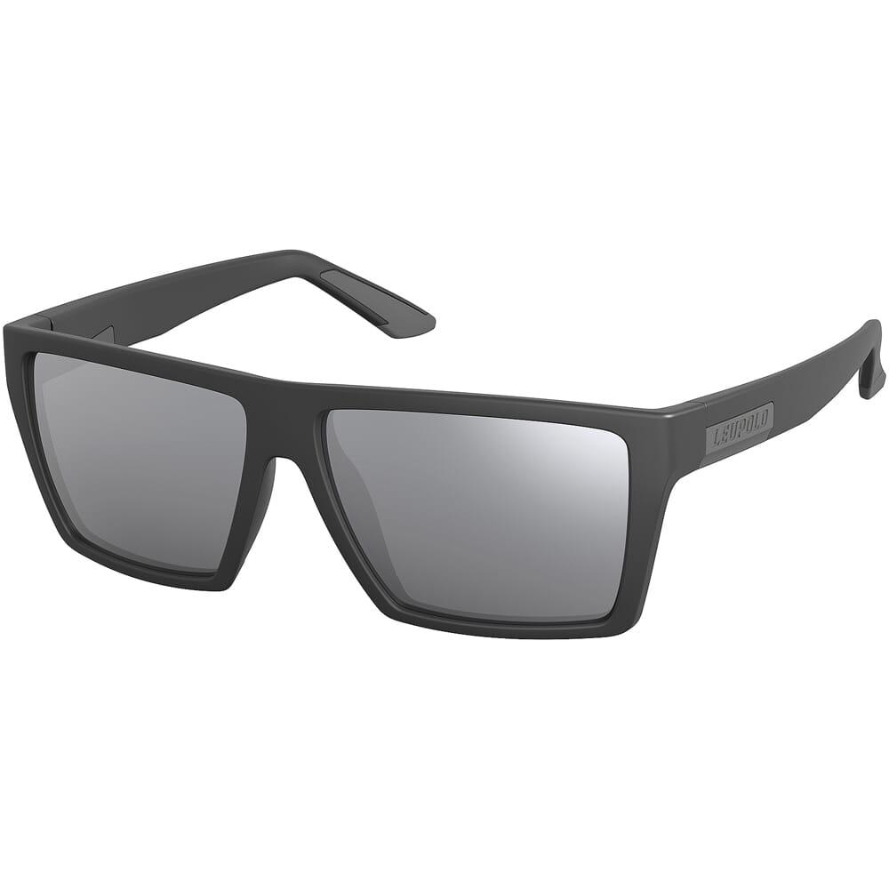 Leupold Refuge, Matte Black, Shadow Grey Flash Lens Performance Eyewear 181276