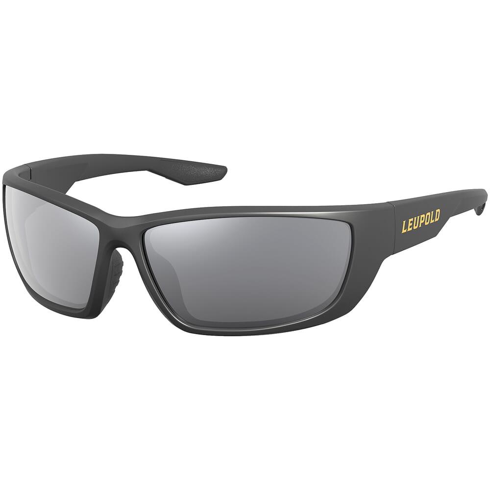 Leupold Cheyenne, Matte Black, Shadow Grey Flash Lens Performance Eyewear 181280