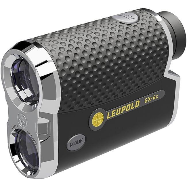Leupold GX-6c Digital Golf Rangefinder Chrome/Black  178764