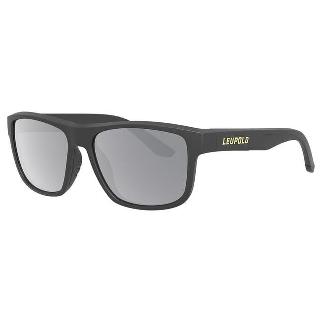 Leupold Katmai Matte Black, Shadow Gray Flash Lens Performance Eyewear 179097