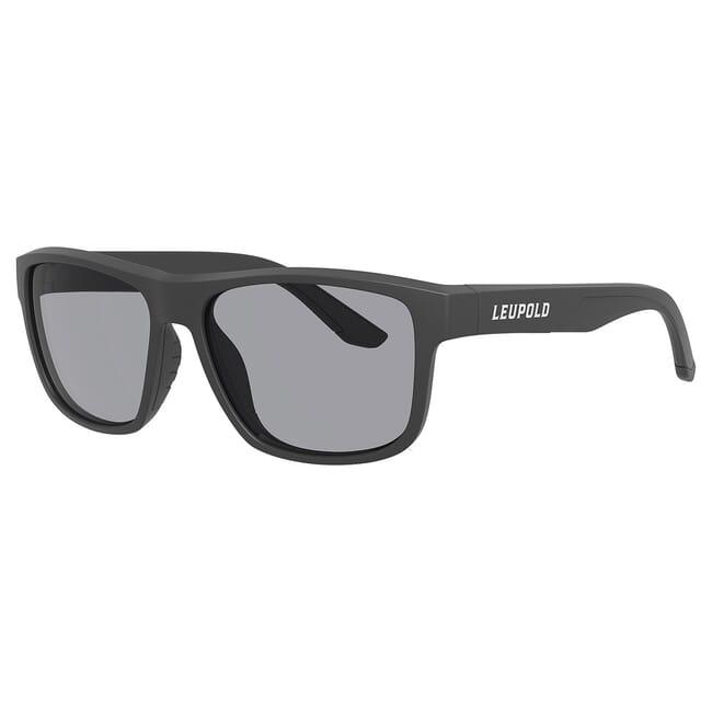 Leupold Katmai Matte Black, Shadow Gray Lens Performance Eyewear 179100
