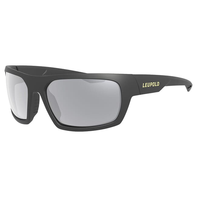 Leupold Packout Matte Black, Shadow Gray Flash Lens Performance Eyewear 179096