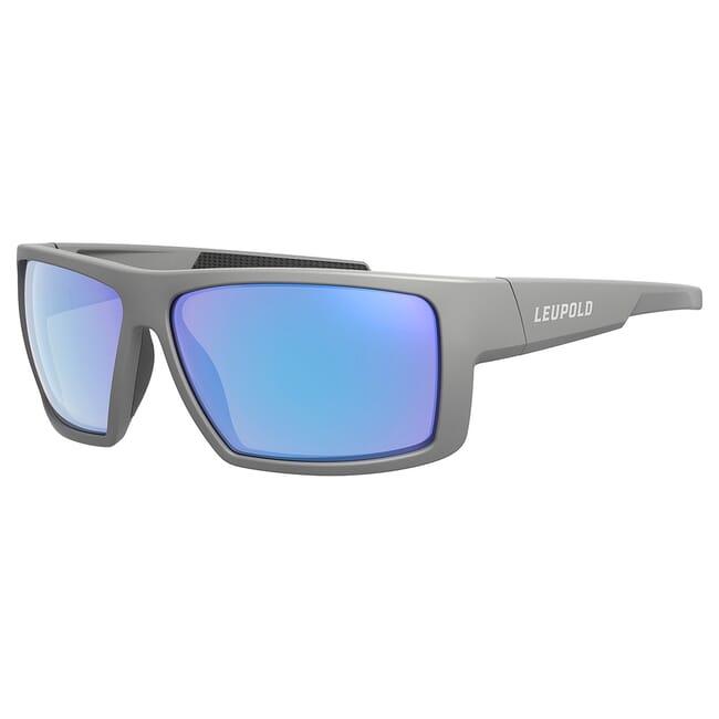 Leupold Switchback Matte Gray, Blue Mirror Lens Performance Eyewear 179629