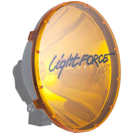 Lightforce 240mm Blitz Amber Spot Filter FABD