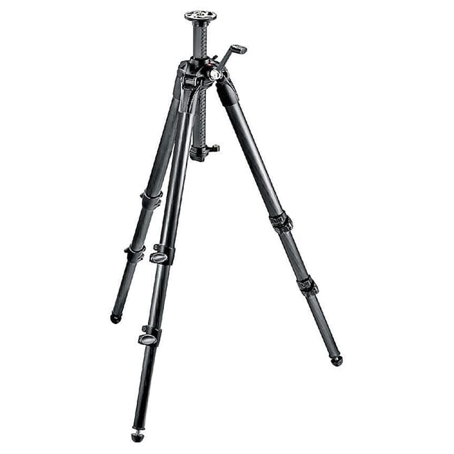 Manfrotto Carbon Fiber Tripod - Geared MT057C3-G