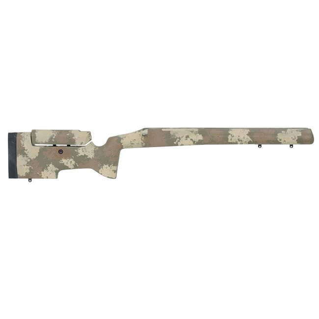Manners T6A Tikka CTR drop-in stock - Woodland Manners-TCTR-T6A-WD