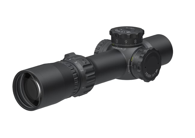 March F Tactical 1-8x24 short FMC-1 Reticle 0.1MIL Illuminated FFP Riflescope D8SV24FIML
