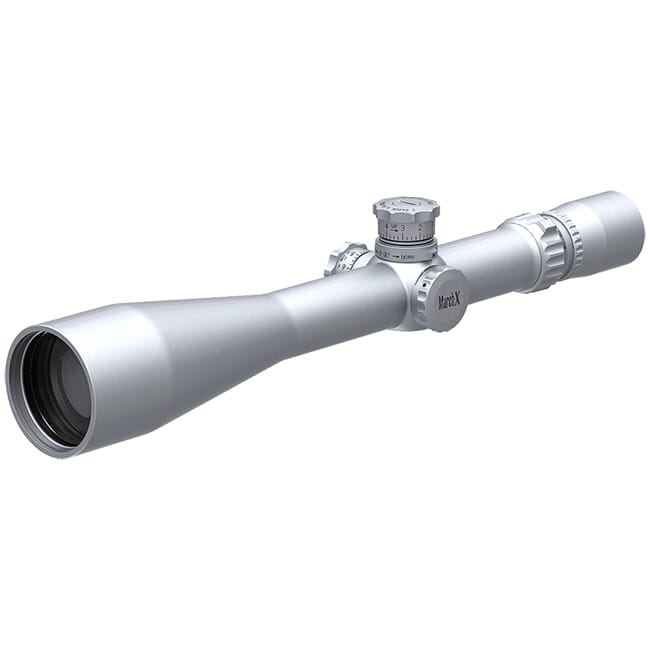 March X Tactical 8-80x56 Silver 1/16 Reticle 1/8MOA Riflescope D80V56ST