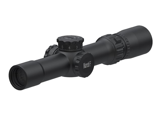 March F Tactical 1-8x24 FMC-2 Reticle 0.1MIL FFP Riflescope D8V24FML